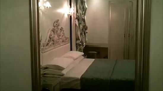 Relais Venezia: Bedroom  (screenshot from a video - sorry)