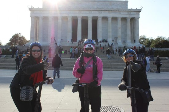 Private DC Segway Tours: We had so much fun.....the guide even takes pictures for you