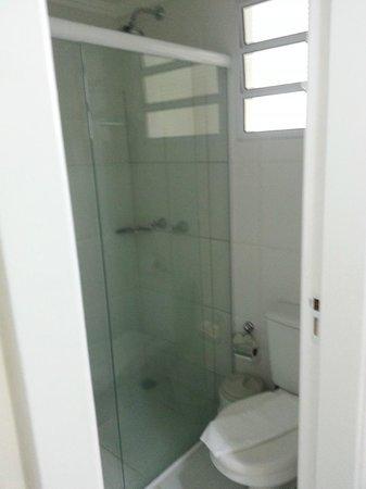 Hotel KK : banheiro