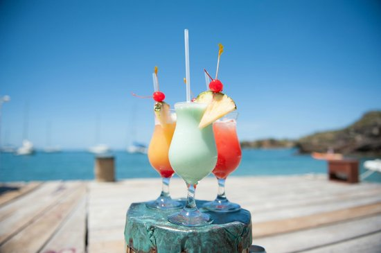 The Inn at English Harbour: Cocktails