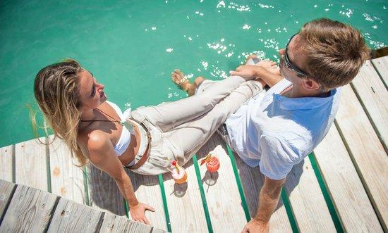 The Inn at English Harbour: Honeymooners