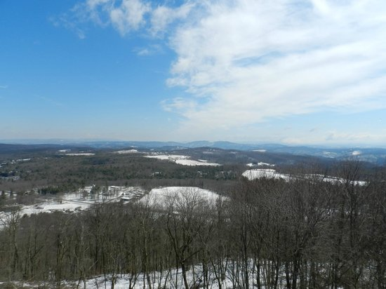 Pipestem Resort State Park: View from tower
