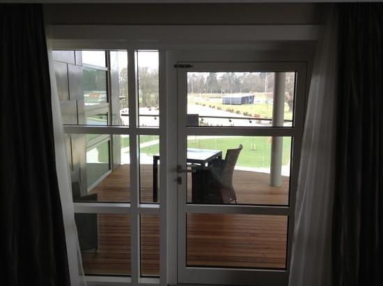 Hilton at St George's Park, Burton upon Trent: Tony Adams suite balcony