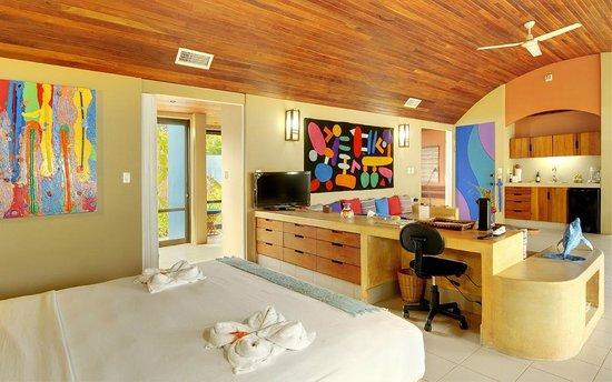 Alma del Pacifico Beach Hotel & Spa: One of our Beachfront Villas