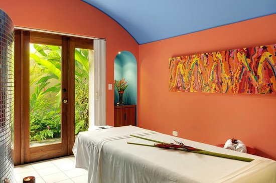 Alma del Pacifico Beach Hotel & Spa: One of the treatment rooms in our spa