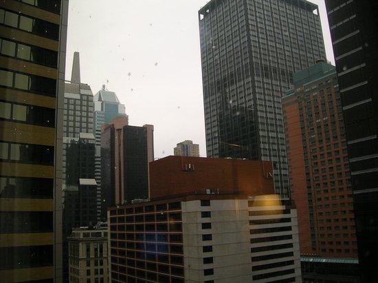 Sheraton New York Times Square Hotel: vista desde la ventana de la habitación