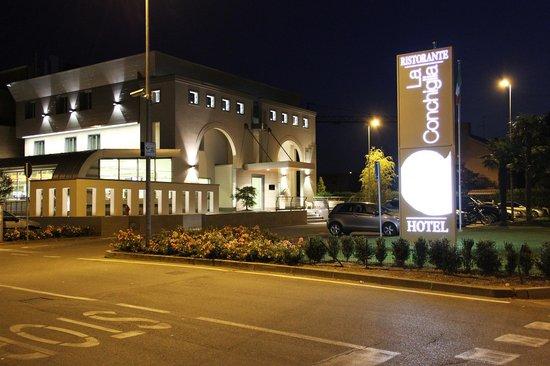 La Conchiglia Hotel: Esterno Ristorante Hotel La Conchiglia