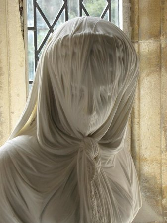 Clevedon Court: Bust of a Veiled Woman