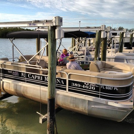 Isles of Capri Marina: The Boat we Rented