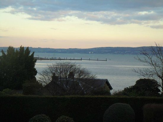 Rosslea Hall Country House Hotel: View of Rhu bay