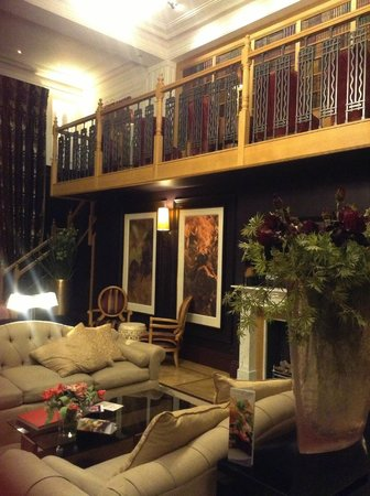 Cavendish Hotel: Library at the Cavendish