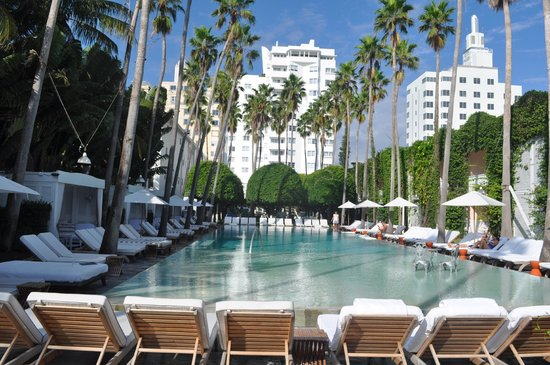 Delano South Beach Hotel: piscina