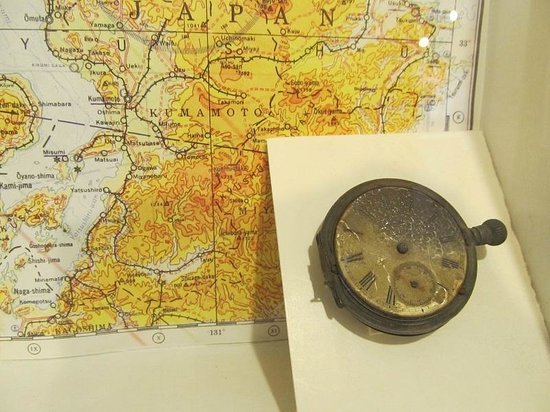 Los Alamos Historical Museum: Watch from Hiroshima