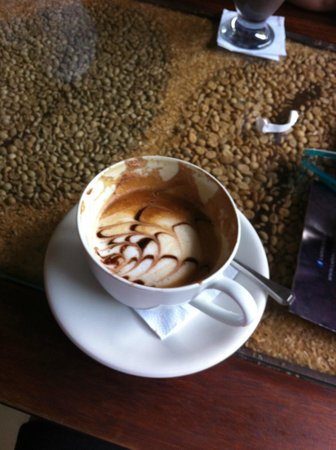 Libelula Coffee Shop: Beautiful Presentation