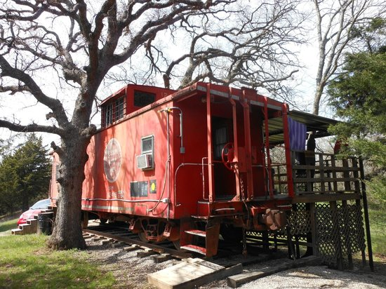 River of Love Cabins : Love Train Caboose