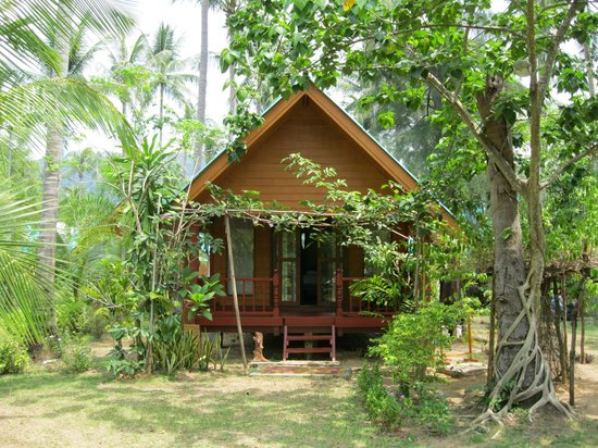 Sayang Beach Bungalows : Our chalet B3 (delux)