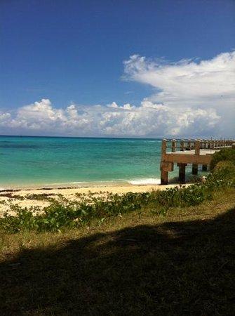 St. Catherine's Beach: jetty