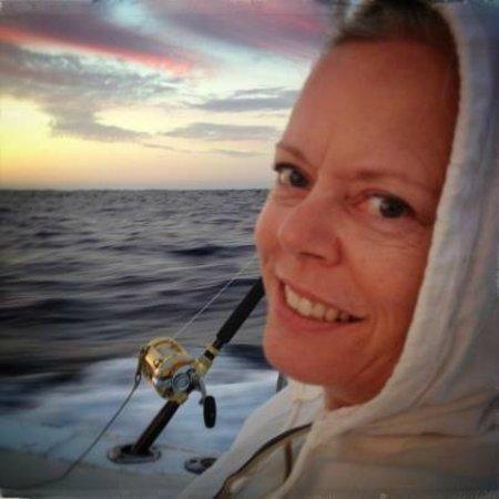 Marlin Alley: Sunrise at sea
