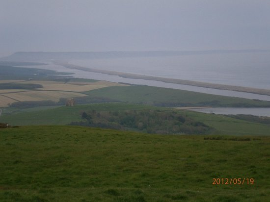 Weymouth, UK: Chesil Beach - View from near Portland x