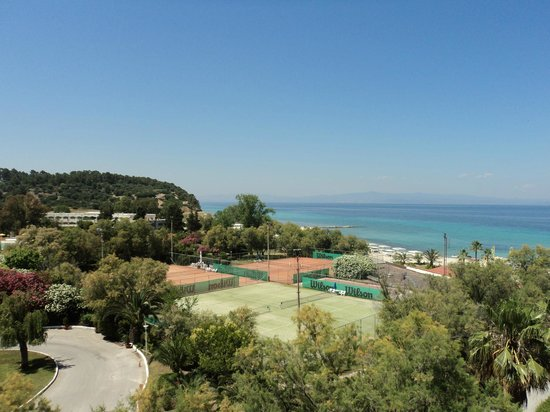 Pallini Beach Hotel: the view from the room