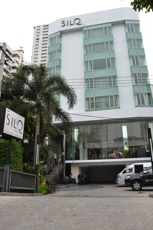 SilQ Bangkok : esterno hotel