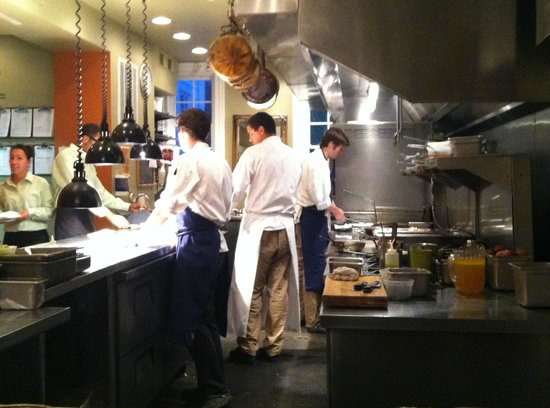 Clifton Inn: View from the Chef's Counter