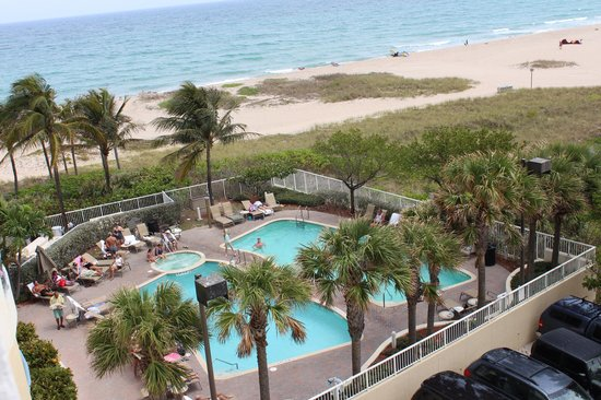 Residence Inn Fort Lauderdale Pompano Beach/Oceanfront: View from our room