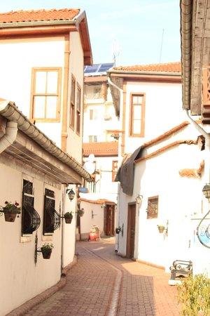 Hanzade cafe & bistro: Street