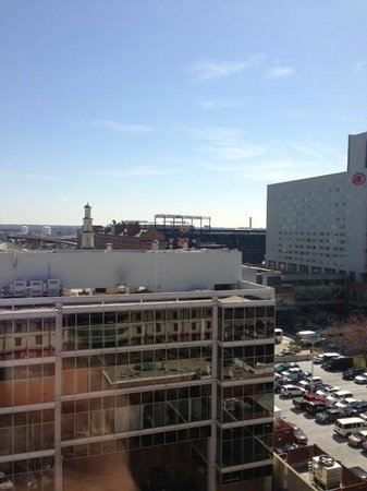 Holiday Inn Baltimore-Inner Harbor : View of Camden Yards from hotel room