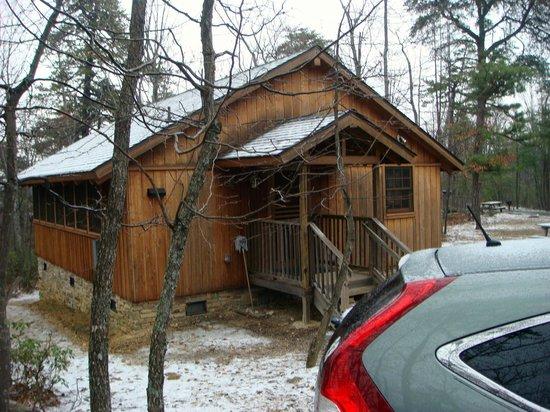 cabin 8 foto di hanging rock state park danbury