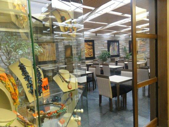 Holiday Inn Express Bogota: Área do café da manhã