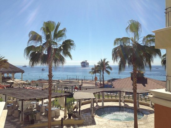 Casa Dorada Los Cabos: View from 3rd floor 1-bedroom suite w/ balcony