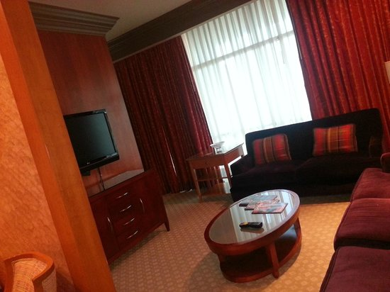 Rio All-Suite Hotel & Casino: living room