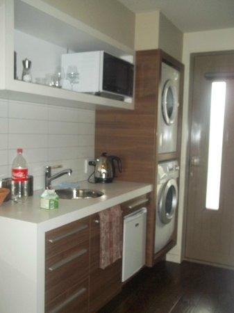 Terra Vive Luxury Suites & Apartments: Kitchenette