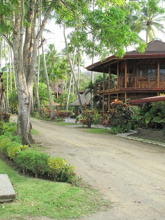 Tambor Tropical Beach Resort : Face of Hotel