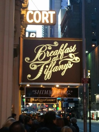 Breakfast at Tiffany's on Broadway