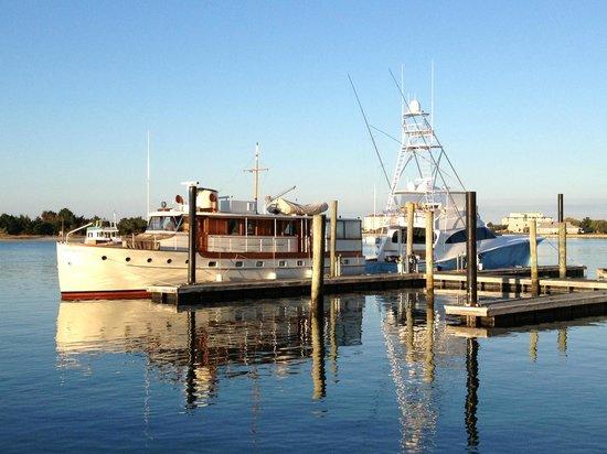 Town Docks in Beaufort, North Carolina