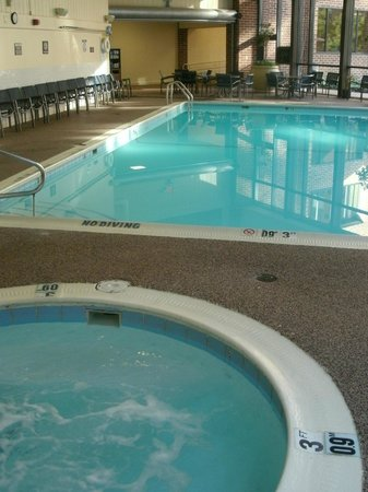 Sheraton Harrisburg-Hershey: Indoor pool with spa