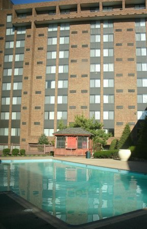 Sheraton Harrisburg-Hershey: Outdoor pool