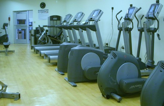 Sheraton Harrisburg-Hershey: Exercise Room