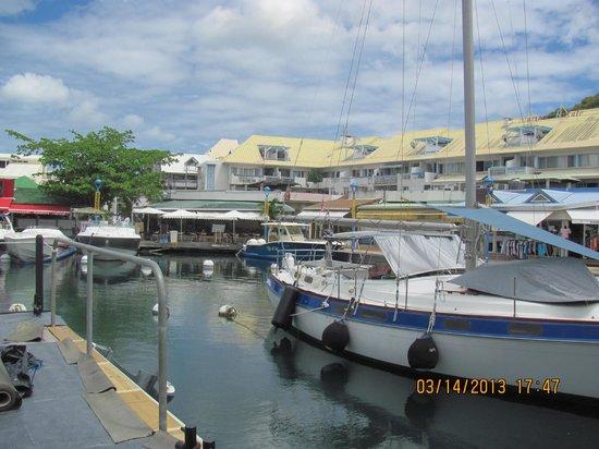 Restaurant brasserie de la gare picture of marina port - Marina port la royale marigot st martin ...