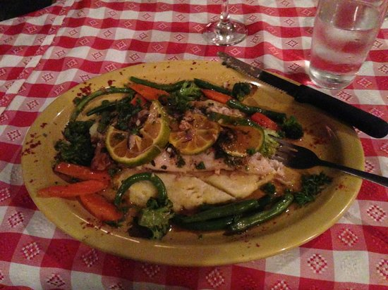 Moya's Place: Sea Bass