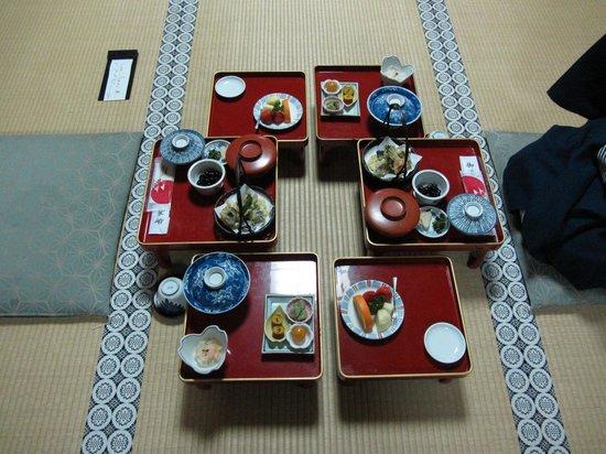 Koyasan Daishi Kyokai: Dinner at Shojoshin-in buddhist monastery