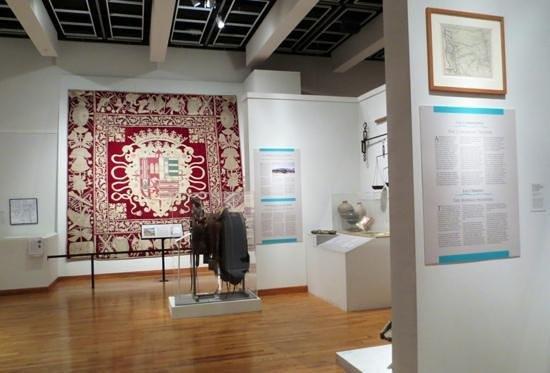 Albuquerque Museum: The Albuquerque History wing of the museum.