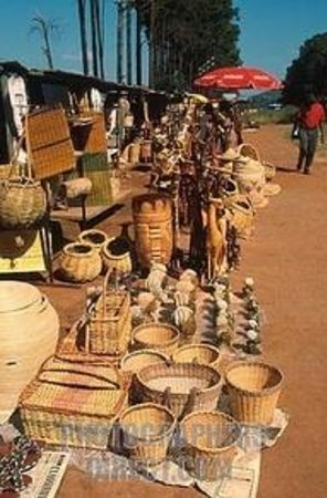 Traditional Swazi Craft Markets Mbabane Swaziland Top