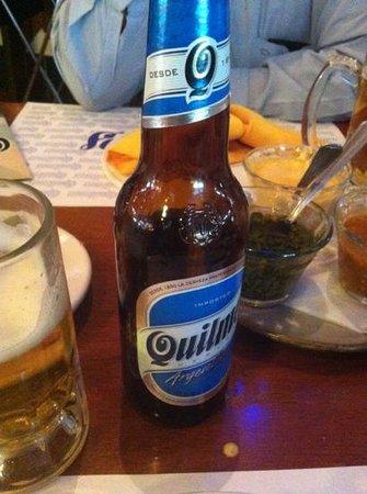 Barrio de Quilmes: Exelente cerveza !