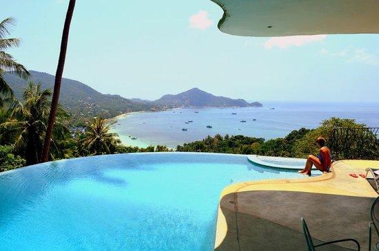 "Monkey Flower Villas: Private swimming pool at the ""Upper"" villa..."