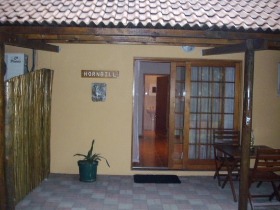 Sunbird Lodge: Door to Hornbill Room