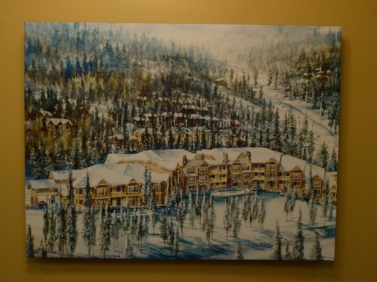 BlueSky Breckenridge: Painting of Blue Sky