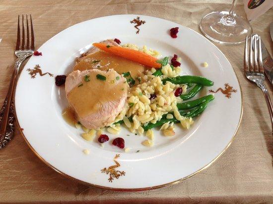 Frogtown Cellars: Delicious turkey